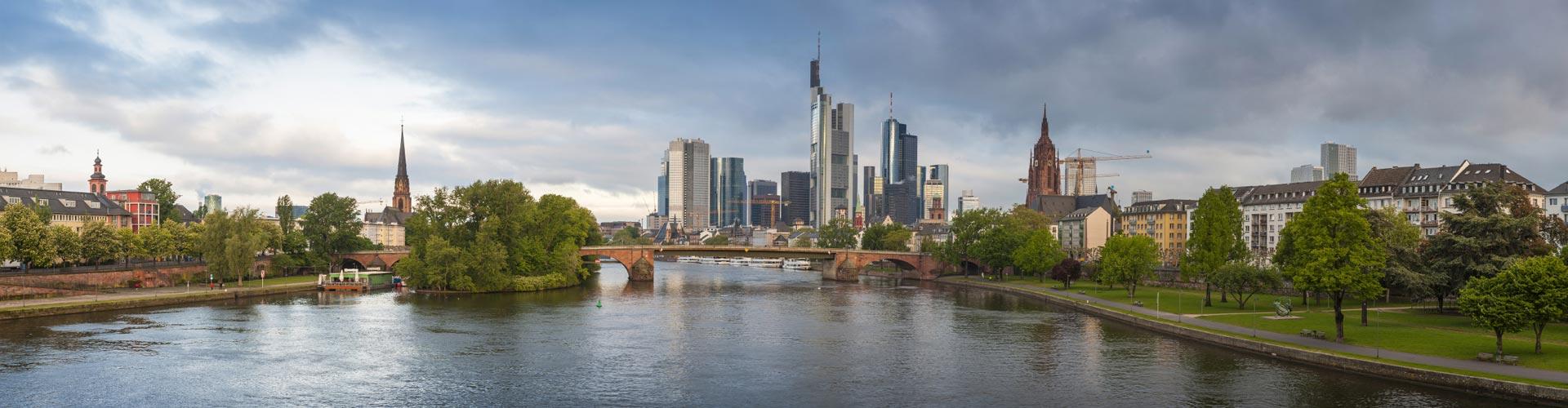 Frankfurt panoramic view